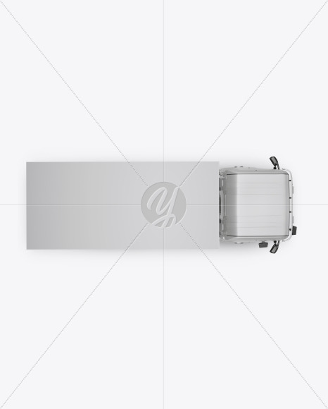 Truck Mockup - Top View - Yellowimages Mockups