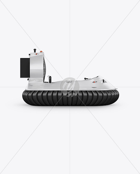 Hovercraft Mockup - Side View - Yellowimages Mockups