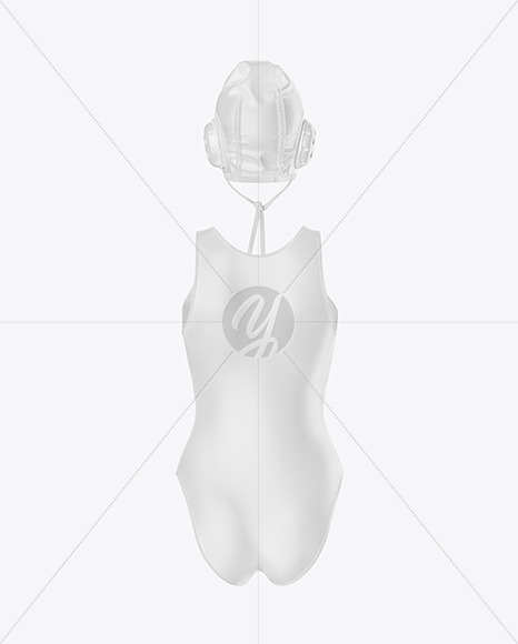 Women's Water Polo Suit - Yellowimages Mockups