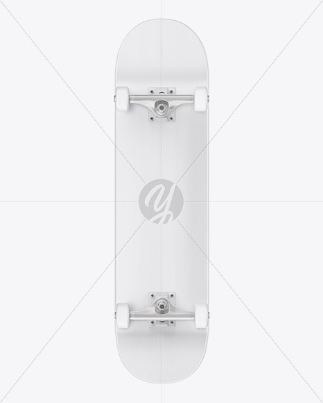 Skateboard Mockup - Front View - Yellowimages Mockups