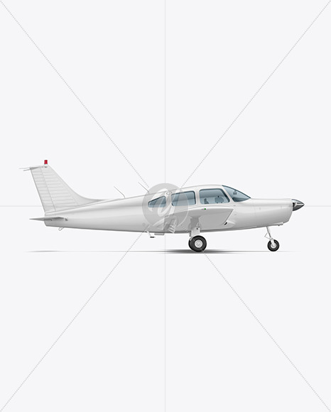 Aircraft - Side View - Yellowimages Mockups