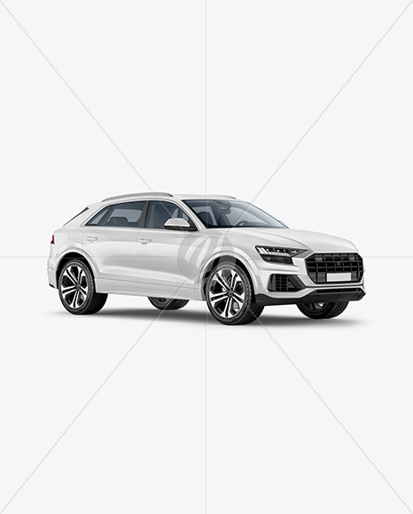 Crossover SUV - Half Side View - Yellowimages Mockups